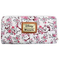 "NEW Loungefly X Disney ""THE ARISTOCATS MARIE FLORAL"" Zip Around Wallet -SALE"
