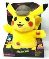 "Detective Pikachu Movie Talking Pokemon Interactive Plush 2 Voice Modes 12"" New"