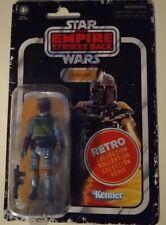 "New listing Star Wars Retro Collection Boba Fett 3.75"" Empire Strikes Back New Sealed"