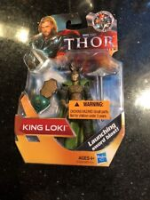 "Marvel Thor King Loki 4"" Action Figure Universe Movie MOC 2011 Hasbro Avengers"