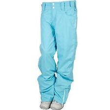 Billabong Berg Pants Womens Ski Snowboard 8k Waterproof 40g Insulated Blue XS S