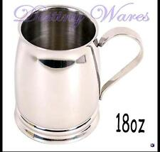 Coyote Stainless Steel Polished BEER TANKARD 18 oz