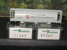 BOWSER N SCALE  #37267 3 PACK ACF CYLINDRICAL HOPPER GAF