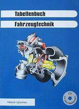 Tabellenbuch Fahrzeugtechnik mit CD-ROM 2008