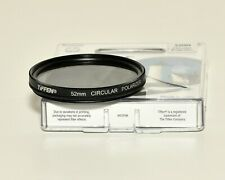 TIFFEN 52mm Circular Polarizer CPL Filter - USED in excellent condition