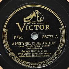 George Griffin Pretty Girl is Like a Melody 78 Have a Heart Anita Boyer Zigfield