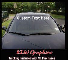 Custom Windshield Banner * Decal Sticker JDM Diesel Truck Car 1500 2500 Euro