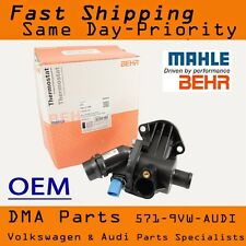 OEM MAHLE Audi A4 1.8T B6 Engine Coolant Thermostat Housing 02 03 04 05 06 Quatt
