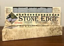14 Pieces (approx. 23 Ft) True Temper Stone Edge Lawn Edging. New In Box.
