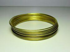 Filo Ottone matassa 1 / 1,5 / 2 / 3 mm rocchetta DIY Soft Brass wire jewel Hobby