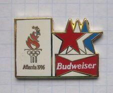 BUDWEISER / OLYMPISCHE SPIELE ATLANTA 1996  ........ Bier Pin (122c)