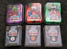 2018/19 Match Attax EPL Soccer Cards Lot of 100 Cards inc 15 special + 3 tins!