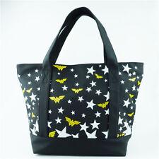 DC Wonder Woman Shoulder Bags Handbag Fashion Black Women PU Leather Bag Gift