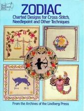 Zodiac Charted Designs for Cross-Stitch Needlepoint and Other Techniques