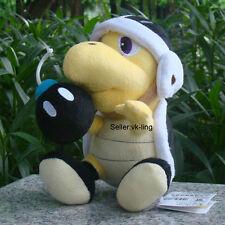 "Super Mario Bros Go Plush Toy Bomb Bro. Koopa Turtle Game Stuffed Animal Doll 8"""