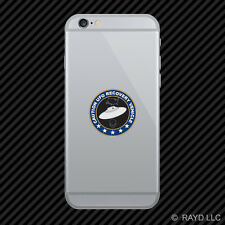 UFO Recovery Vehicle Cell Phone Sticker Mobile alien flying saucer