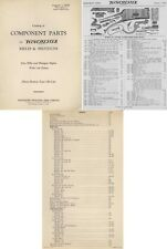 Winchester 1940 Component Parts Catalog