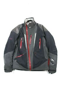 Helly Hansen Mens Size M Black Recco Tech O2 Waterproof Snow Ski Jacket
