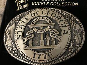 Tony Lama Georgia Belt Buckle