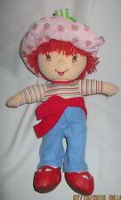 Strawberry Shortcake Plush Doll, Kelly Toy,  14 inches 2004