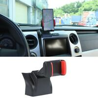 Interior Center Dashboard Phone Cellphone Holder Mount for Ford F150 2013 2014