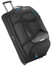 "NEW EAGLE CREEK EXPANSE COLLECTION 32"" WHEELED DROP BOTTOM DUFFEL LUGGAGE BLACK"