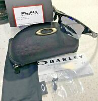 OAKLEY FLAK JACKET XLJ JET BLACK FRAME/ BLACK IRIDIUM LENSES SUNGLASSES 03-915