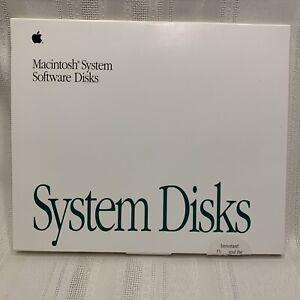 Macintosh System 7 Software Disks