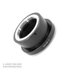 Pro M42 pour Nikon Z Mount Lentille Adaptateur. Vis Adaptateur pour Z6 Z7 compacts etc