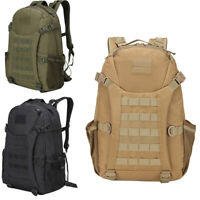 Military Tactical Backpack 30L Molle Rucksack Assault Pack Outdoor Shoulder Bag