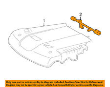 TOYOTA OEM 05-15 Tacoma Engine Appearance Cover-Engine Cover Bracket 112540P010