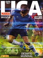2013 2014 Spain Marca Guia de la Liga - Spanish Football Season Preview Magazine