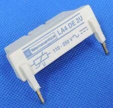 TELEMECANIQUE LA4 DE 2U COIL SUPPRESSOR MODULE RELAY 110-250V, LA4-DE2U, LA4DE2U