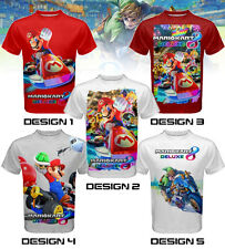 Super Mario Kart 8 Custom T-SHIRT / JERSEY - Nintendo 3DS Wii-U game theme