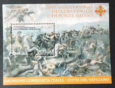2012 1700° anniversario battaglia di Ponte Milvio - foglietto Italia nuovo MNH**