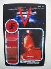 Figura de acción personalizada de polvo rojo novedad Moc V 'visitante' Vintage SCI-FI TV Show