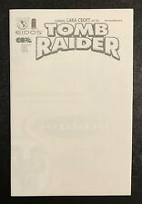 TOMB RAIDER PREVIEW CONVENTION VARIANT BLANK SKETCH COVER NEAR MINT VERY RARE