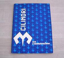 Innocenti 3 Cilindri Libretto Manuale Uso e Manutenzione 1983 ORIGINALE