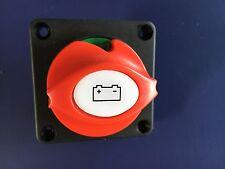 12V 24v Marino BARCA batteria isolante tagliato KILL SWITCH ON / OFF tasto rimovibile