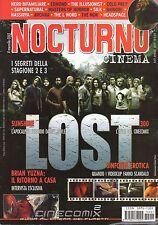 rivista NOCTURNO CINEMA ANNO 2007 NUMERO 57 LOST