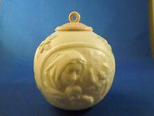 1997 Lladro Porcelain Ceramic Handmade in Spain Christmas Bulb Ornament