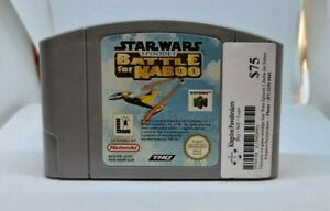 Star Wars Episode I Battle For Naboo N64 Cartridge only