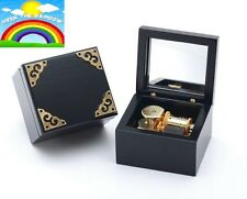 Classic Black Square Music Box  : Somewhere Over The Rainbow