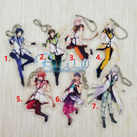 T1594 Anime idolish7 Acrylic Keychain Key Ring Schlüsselanhänger