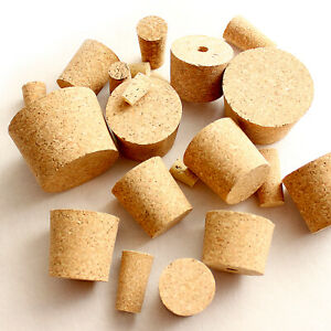 Homebrew Cork Bungs for Home Made Wine or Beer Fit Demijohn Bottle All Sizes