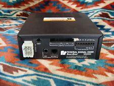 Federal Signal SS2000SS-D Smart Siren Master