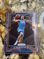 2019-20 Panini Prizm PJ Washington RC Silver Charlotte Hornets NBA Rookie Card