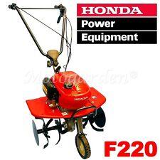 Motozappa Honda F220 GE - zappare, fresare il terreno, coltivare l'orto di casa