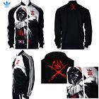 Original %Adidas Star Wars Darth Vader Coat Superstar Black Men's Jacket Outwear