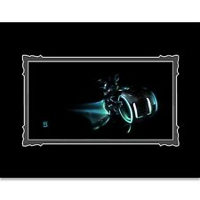 Disney Parks TRON Mickey On LightCycle Deluxe Print by Noah New